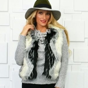 Faux Fur Winter Womens Vest